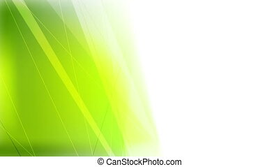 Abstract bright green stripes video animation - Abstract...