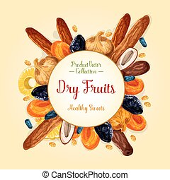 Dried fruits for healthy snack food design - Dried fruit...