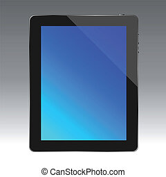 Tablet PC - Vector of tablet computer