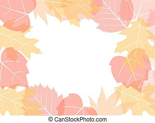 Fall leaves background - Colorful fall leaves background,...