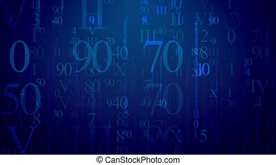 Message in Latin and Arabic data in cyberspace - Matrix...