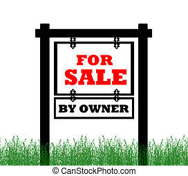Real Estate home for sale sign