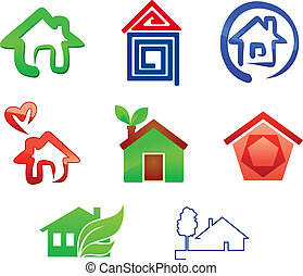 Real estate symbols