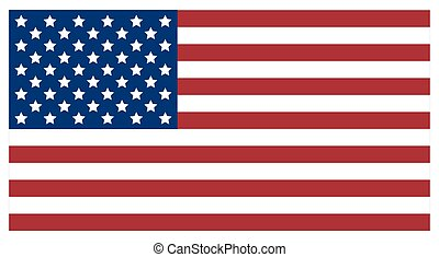 Flag of the United States of America.