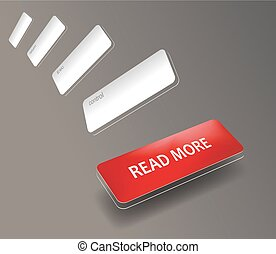 Read More colorful red button
