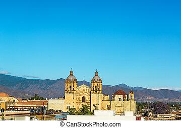 Santo Domingo Church and Hills - Santo Domingo church in...