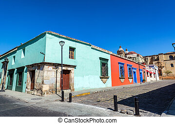 Colorful Colonial Architecture - Colorful colonial...