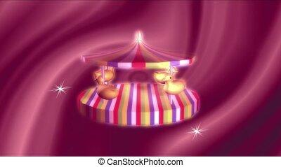 Child's merry go round