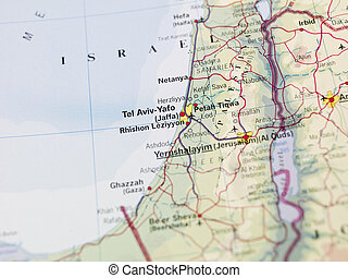 Map of Yerushalayim