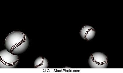 Toss Up Baseballs