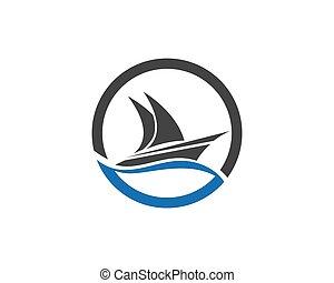 ship Logo Template