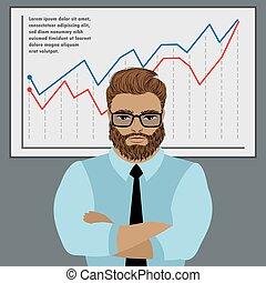 Successful businessman concept. - Successful businessman...
