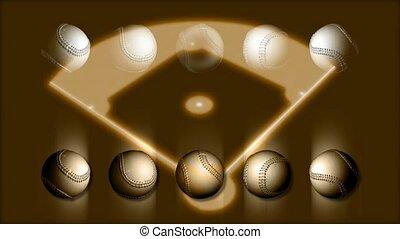 Baseballs and Diamond