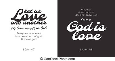 god is love, verse from bible