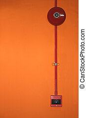 Fire Alarm System - Image of fire alarm system components.