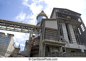 Cement Factory - Image of a cement factory in Malaysia