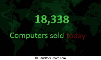 Internet stats Computer sold today