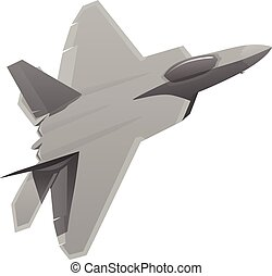 Military Fighter Jet Aircraft - Modern military fighter...