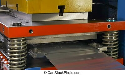 Manufacture of metal tubes on industrial CNC machine in...
