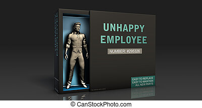 Unhappy Employee Employment Problem and Workplace Issues