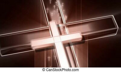 Large Cross with Small Crosses