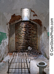 Eastern State Penitentiary Prisoner Cell