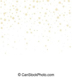 snowflake background white gold - Christmas winter white...