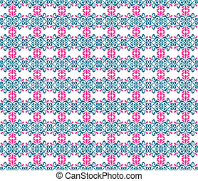 seamless floral pattern ornament