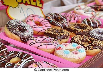 donuts at street food