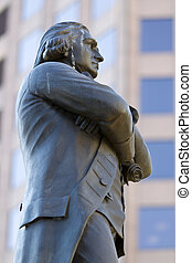 Samuel Adams - Statue of Samuel Adams in Boston
