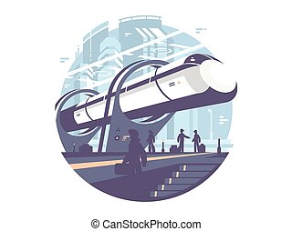 Hyperloop express transport train - Hyperloop newest...