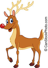 Reindeer - Rudolph the red nosed reindeer