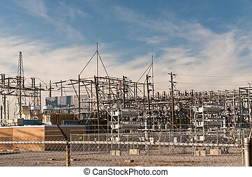 Transformer station - Electrical Substation - An electrical...