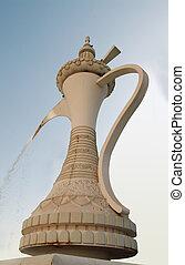 A huge Arabic Tea Pot - A huge arabic teapot in Abu Dhbai,...
