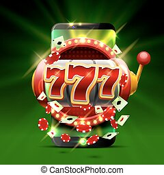 Big win slots 777 phone casino background. - Big win slots...
