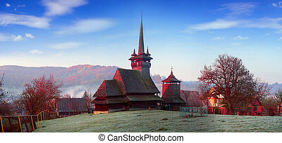 Unique wooden churches - Unique 17th century wooden churches...