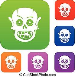 Living dead set color collection