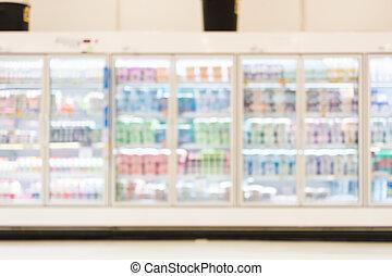 fresh food blurred - Blurred photo of fresh food in...