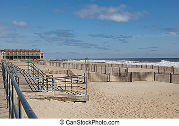Asbury Park New Jersey - A view of the Asbury Park, New...