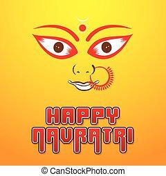 happy navratri festival poster desgin - creative happy...