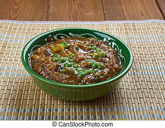 Punjabi Baingan Bharta - Indian Spicy Eggplant Mash