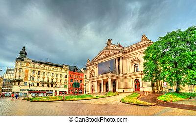Mahen Theatre in Brno, Czech Republic - Mahen Theatre in...