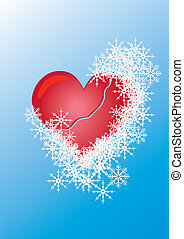 heart  among  snow