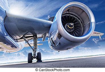fire engine of an aircraft