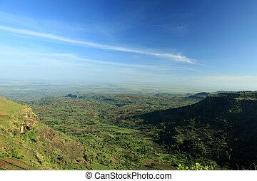 Rural Landscape - Uganda, Africa