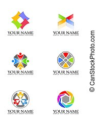 Design elements for logo - Illustration of Design elements...