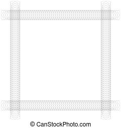 wire frame on white background