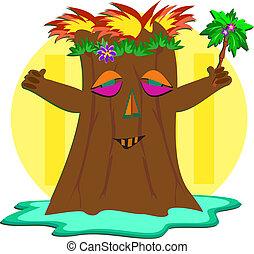 Palm Tree Tiki