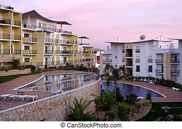 Outdoors - A modern and luxurious building - Lifestyle...