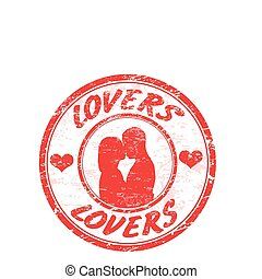 lovers stamp